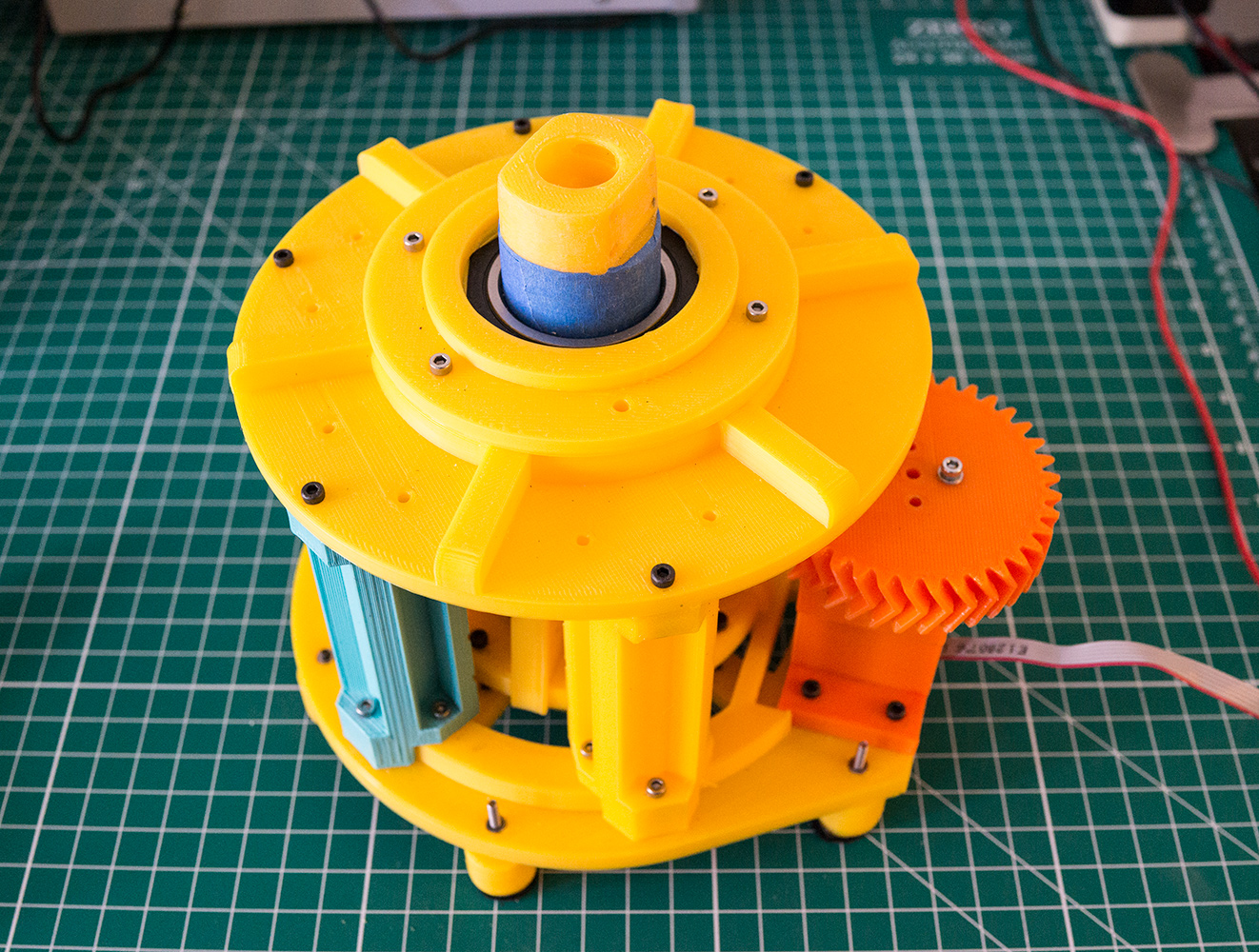 Robot Arm Mechanical Design V2: Base | Luke Metz